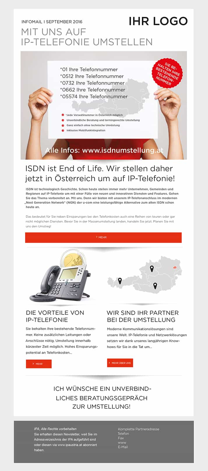 IPAustria Isdn 2 Voip - roh